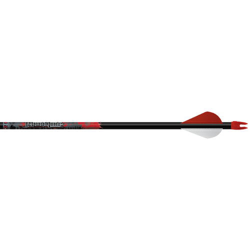 "Bloodline 330 Arrows w/2"" Blazer Vanes Inserts Loose"