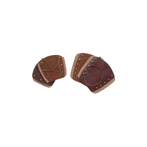 Deluxe Traditional Armguard Brown  6 1/4""