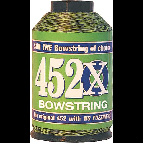BCY 452X Bowstring Material Green/Black 1/4 lb.