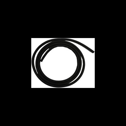 Std Latex Tubing 3' Black