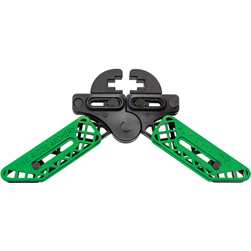 Pine Ridge Kwik Stand Bowholder Lime Green
