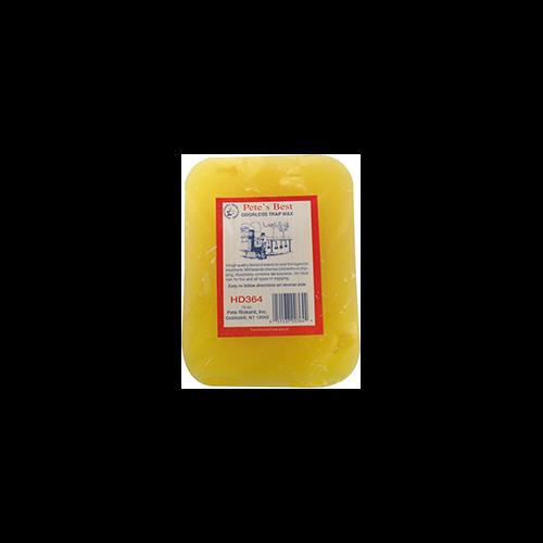 Rickards Pete's Best Trap Wax Yellow Odorless 1 lb.