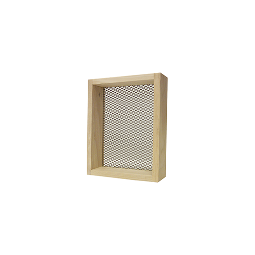 Rickards Deluxe Sifter 7x9 in. 1/4 in. Mesh Wood Frame