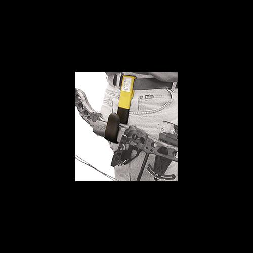 High Point Belt Bow Hanger Grey