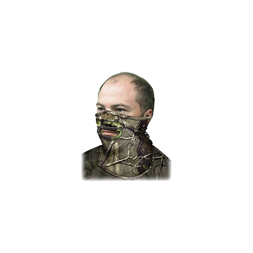 Primos Stretch Fit 1/2 Mask Realtree AP Green