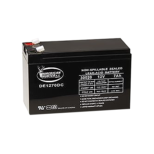 Powerstar 12V 7AMP Rechargeable Battery
