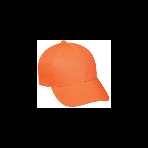 Solid Blaze Orange Cap