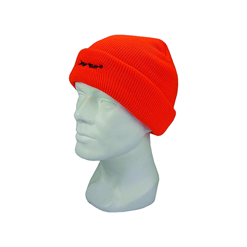 Hot Shot Insulated Cuff Cap 4-Ply Blaze Orange