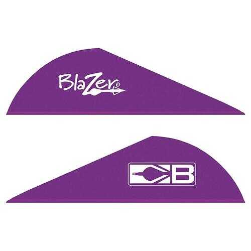 Bohning Blazer Purple Vanes 36 pk.