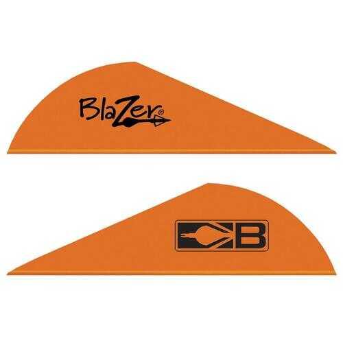 Bohning Blazer Vanes Neon Orange 1000 pk.
