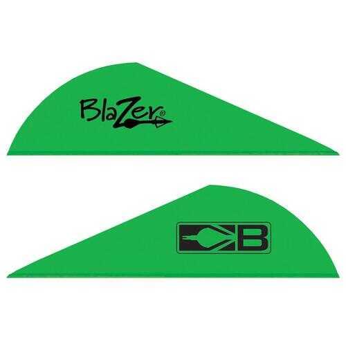 Bohning Blazer Vanes Neon Green 1000 pk.