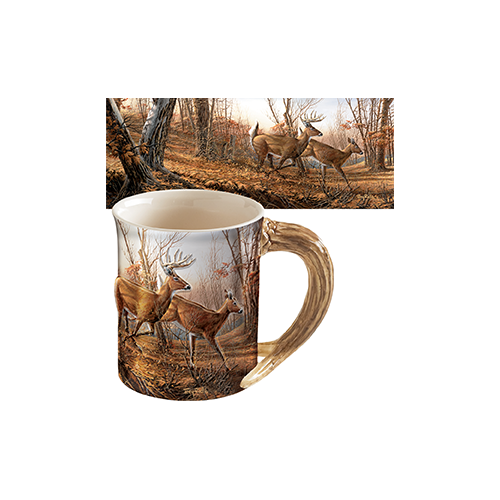 Wild Wings Sculpted Mug Autumn Run