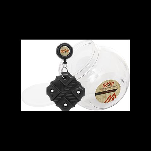 OMP Flex-Pull Pro Counter Display Black 10 pk.