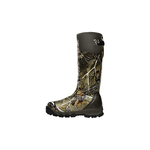 "Alpha Burly Pro 18"" Realtree Xtra Green Boots Size 10"