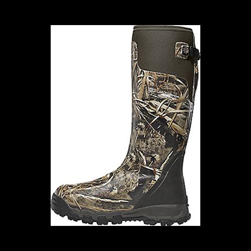 "Alphaburly Pro 18"" 800gr Boot Realtree Max 5 Size 9"