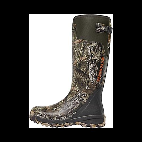 "Alphaburly Pro 18"" Boot Mossy Oak Country Size 10"