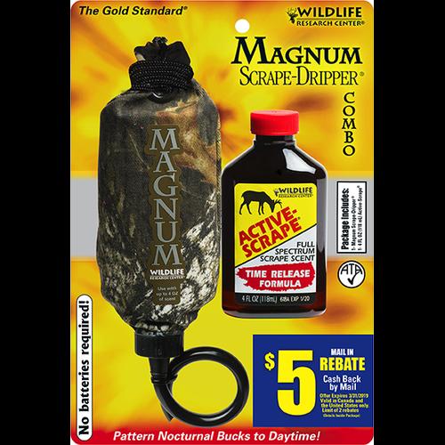 Wildlife Magnum Dripper w/4oz Active Scrape