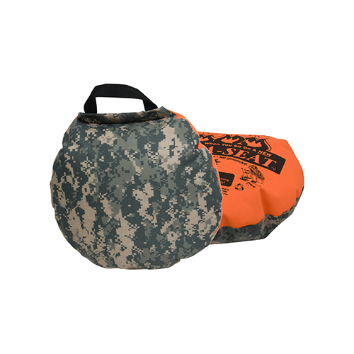 Therm-A-Seat Heat-A-Seat Camouflage/Blaze Orange 17 in.