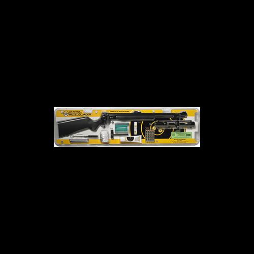 CVA Wolf Muzzleloader w/Scope Pkg Black .50
