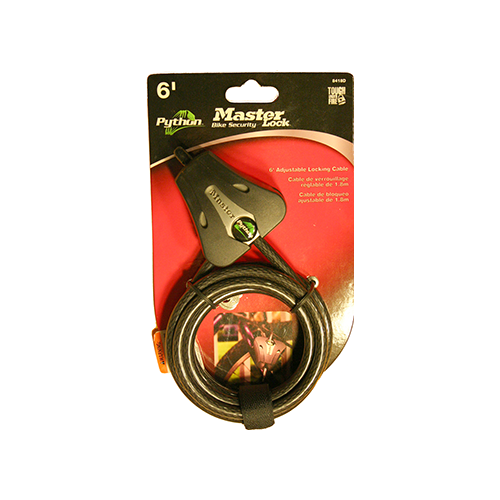 Covert Python Security Cable 3/16 in. 6 ft. 1 pk.