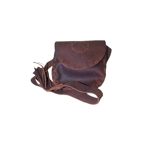 Hand Laced Leather Possible Bag