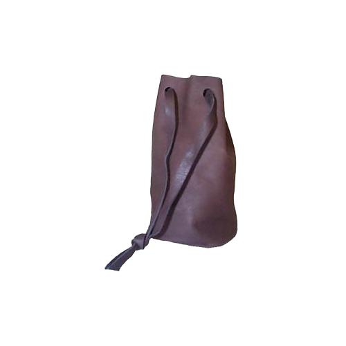 Leather Bullet Bag Brown