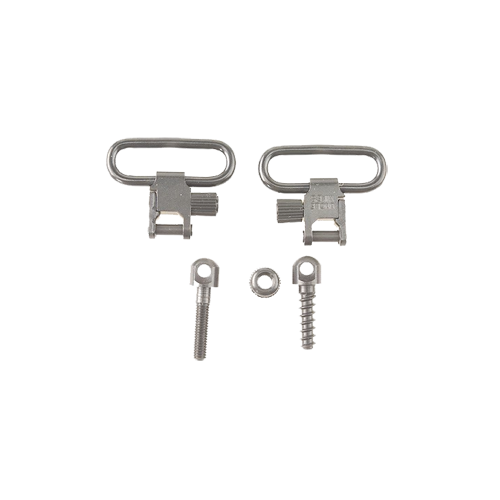 "Mikes QD115 1"" Nickel Plated Sling Swivel"