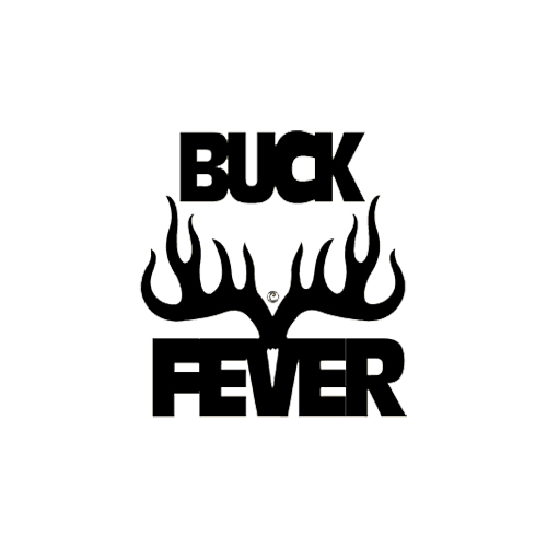 Buck Fever Decal 6x6