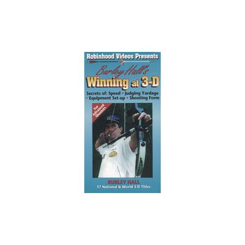 "Burley Hall ""Winning At 3-D"" DVD"