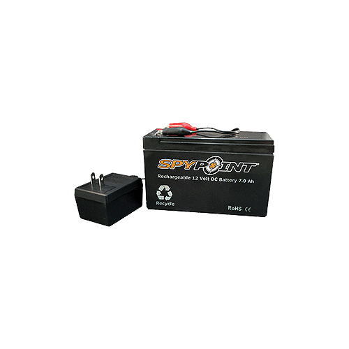 Spypoint 12v Rechargeable Battery & Charger