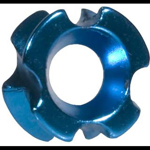 OMP TriView Peep Blue 1/8 in.