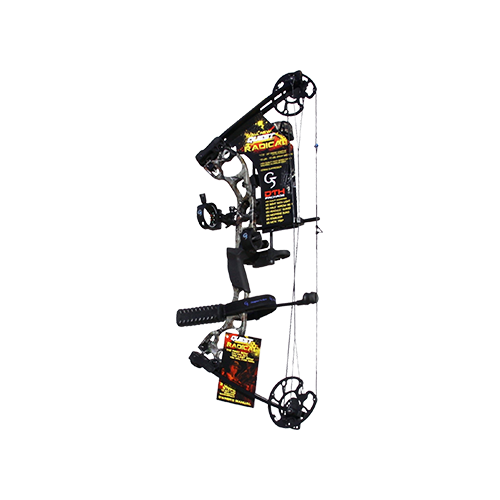 "17 Quest Radical Realtree All Purpose Bow Package RH 25"" 40#"