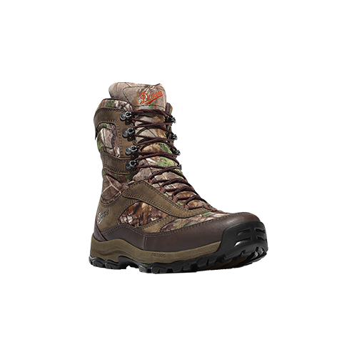 """Danner High Ground 8"""" Realtree Green Boot Size 9"""