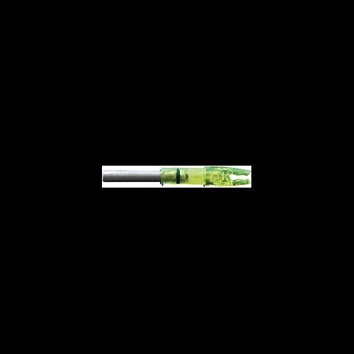 Lumenok Lighted Nock Green H Nock 1 pk