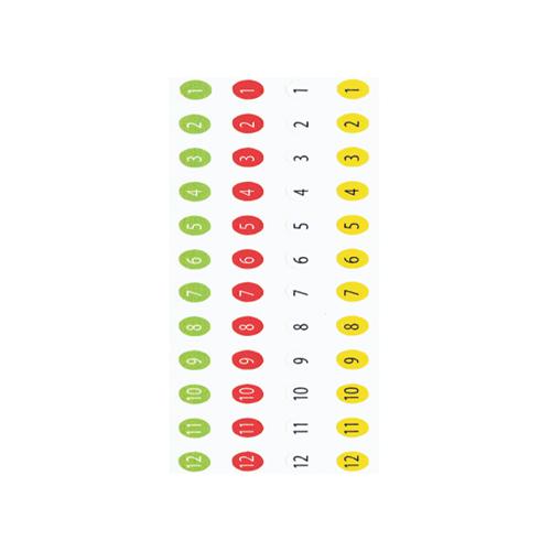 Arrow Number Decals 16 Set Pack