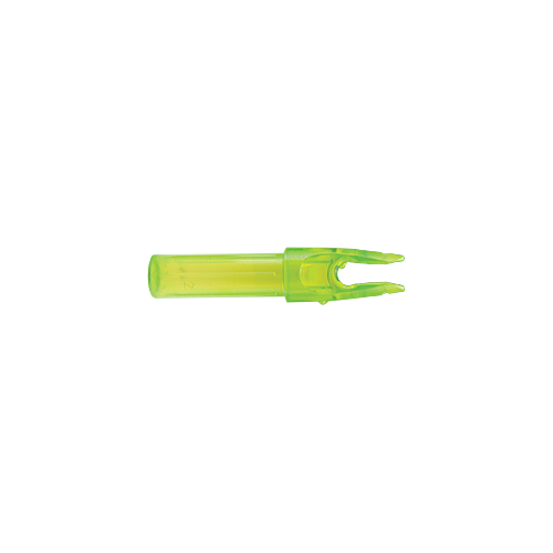 Launch Pad Precision Nock .244 Clear Green