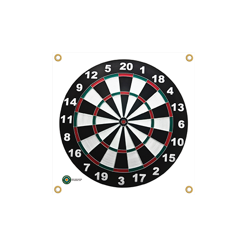 Arrowmat Foam Target Face Dartboard 17x17 in.