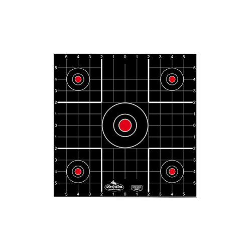 Birchwood Casey Dirty Bird Target Sight-In 12in 12pk