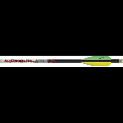 """Maxima Badlands 20"""" Finished Crossbow Bolt w/Universal Nock"""