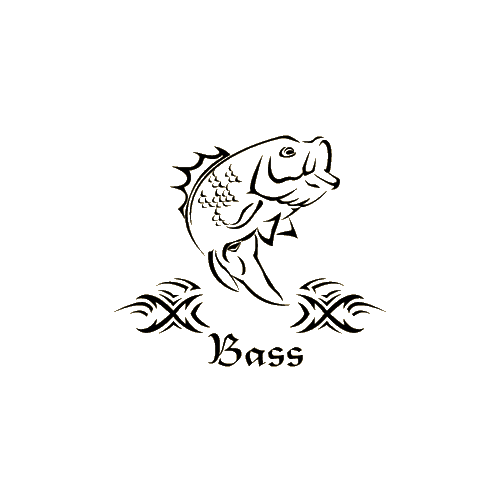 Bass Decal 5x6