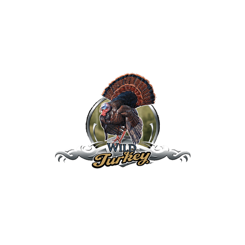 Wild Turkey Decal Color 6x8.5