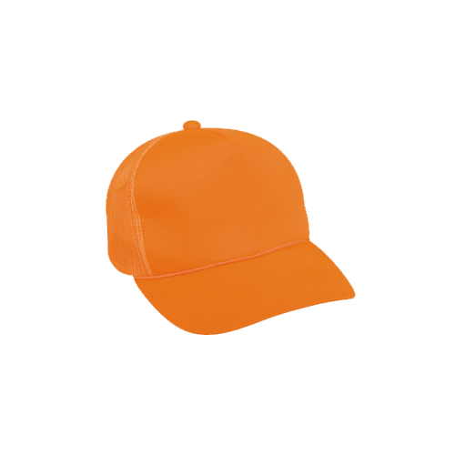 Blaze Orange w/Mesh Back Cap