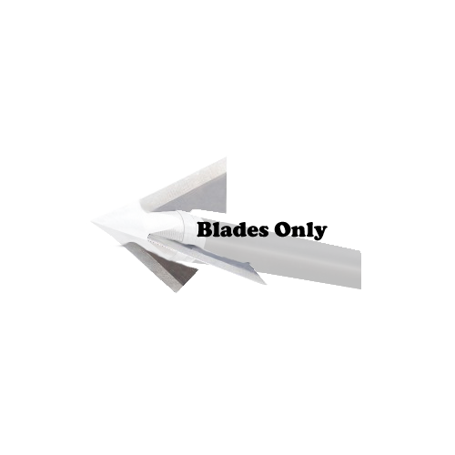 Exodus Replacement Blades 100 & 85gr Barbed Swept Blade