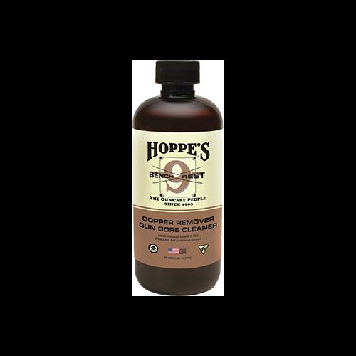 Hoppes No.9 Bench Rest Copper Solvent Pint Bottle