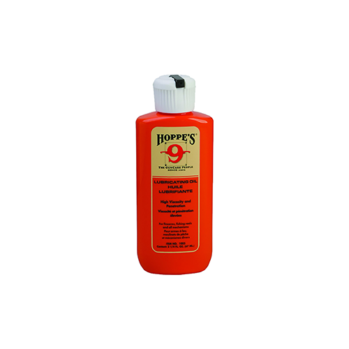 Hoppes No.9 Lubricating Oil 2.25oz Squeeze Bottle