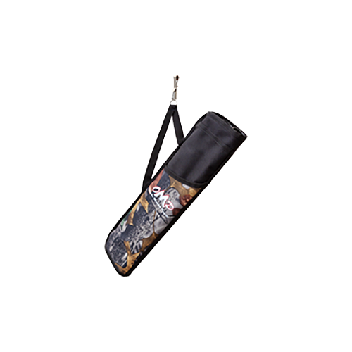 Adventure Hunter 3 Tube Hip Quiver Black/Camo Right Hand