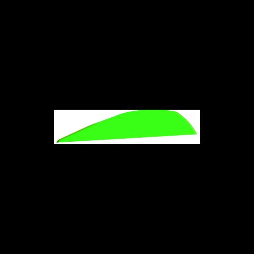 "Q2I DV-II 4"" Neon Green Vanes"