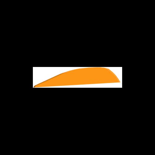 "Q2I DV-II 4"" Flo Orange Vanes"