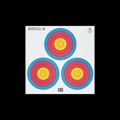Maple Leaf FITA 3-Spot Target Triangle 100 pk.