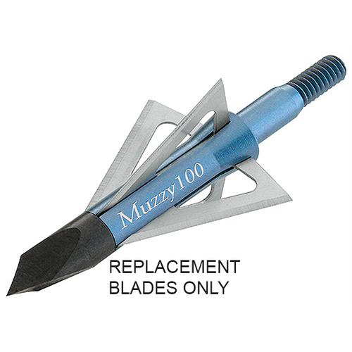 Muzzy Replacement Blades Only For Extra 4 Blades #209 100gr